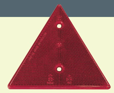triangle de signalisation catadioptre